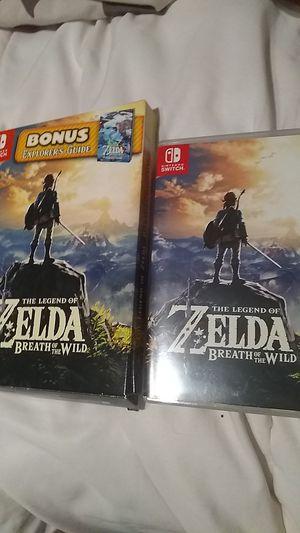 Zelda breath of the wild for Sale in Dallas, TX