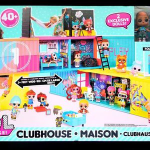 LOL Suprise Clubhouse Playset w/ 40 Surprises & 2 Exclusive Dolls *NEW* for Sale in Kissimmee, FL