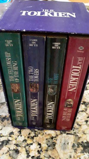 Set de 4 libros collectible J.R.R.Tolkien. for Sale in Miami, FL