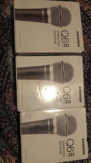 Q6 Dynamic Microphone (3) for Sale in Carol City, FL