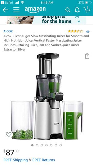 Alcok slow juicer for Sale in San Diego, CA