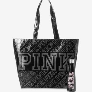 PINKS'WELL WATER BOTTLE AND REUSABLE TOTE BAG . BNIP for Sale in Tacoma, WA
