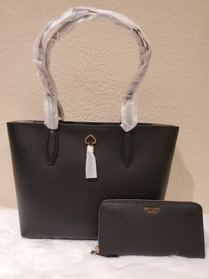 BLACK KATE SPADE PURSE AND WALLET SET for Sale in Huntington Park, CA