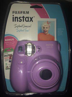 Purple FujiFilm Instax for Sale in Charlottesville, VA