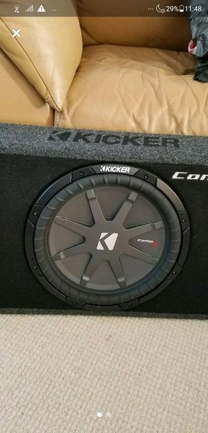 """Kicker Subwoofer with Kicker Box 10"""" 500 Watts Car Audio for Sale in San Diego, CA"""