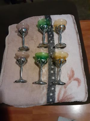6 antique glass for Sale in San Jose, CA