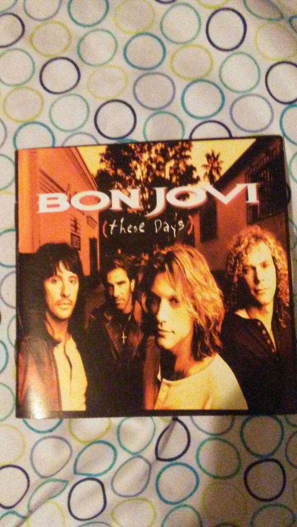 Bon Jovi CD with lyrics