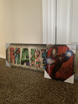 Marvel wall decor for Sale in Bonney Lake, WA