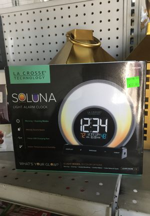 La Crosse Soluna Light Alarm Clock for Sale in Monterey Park, CA