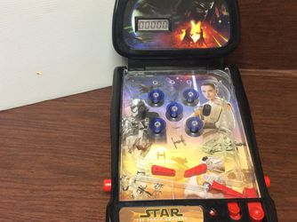 2009 Star Wars The Force Awakens Tabletop Electronic Pinball Machine Game Works! for Sale in Tigard,  OR