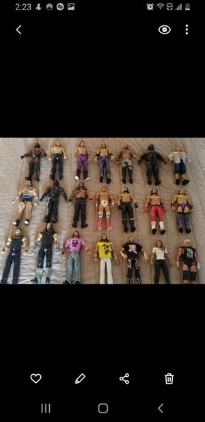 WWE Figures for Sale in Santa Fe Springs, CA