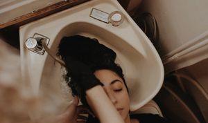 Cast iron cream shampoo bowl Belvedere brand vintage bowl for Sale in Seattle, WA