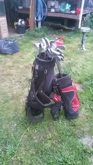 Golf bags with clubs for Sale in Portland, OR