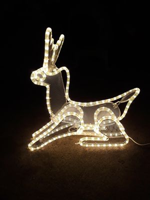 Christmas reindeer 22inches H and 22inches W light up $25 for Sale in Garden Grove, CA
