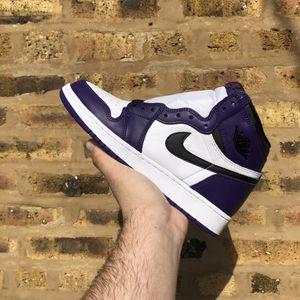 Air Jordan 1 High OG Court Purple 2.0 for Sale in Brookfield, IL