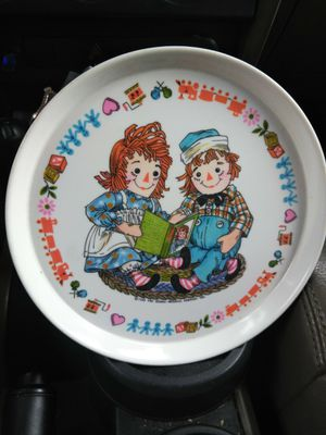 """Raggedy Anne and Andy Melamine"" Oneida plate for Sale in Wolcott, CT"