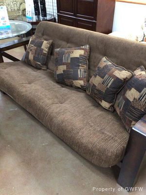 Brown Futon for Sale in Watauga, TX