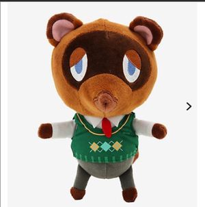 Animal crossing Tom nook plushie for Sale in Apple Valley, CA