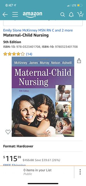 Maternal child nursing for Sale in Compton, CA