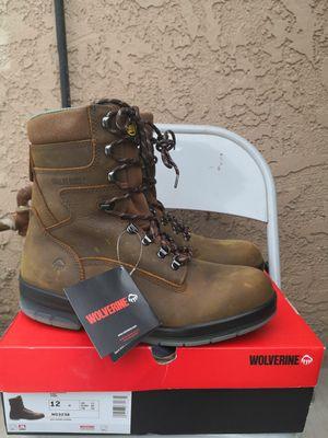 Brand new wolverine Durashocks soft toe work boots size 12 for Sale in Riverside, CA