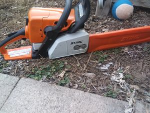 Stihl MS 250 2 chainz Wood Boss for Sale in Westminster, CO