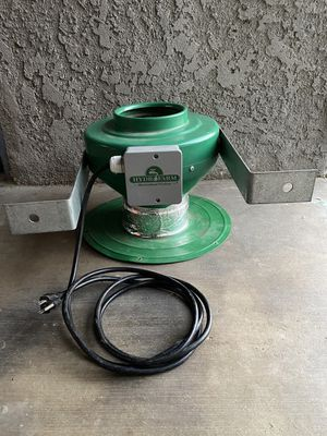 """Hydro Farm 6"""" Active Air Inline Fan + Flange + Mount for Sale in Bloomington, CA"""