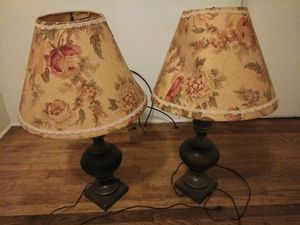 2 Antique Lamps for Sale in Spartanburg, SC