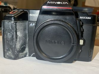 Minolta 5000 Maxxum Camera (BODY ONLY) for Sale in Denver,  CO