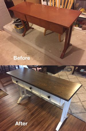 Refinished Entry-Way/Console Table for Sale in Fort Belvoir, VA