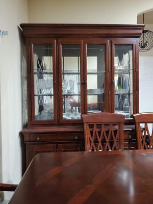 Formal dining room table and china cabinet for Sale in Haslet, TX