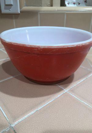 Vintage red Pyrex bowl for Sale in La Habra, CA