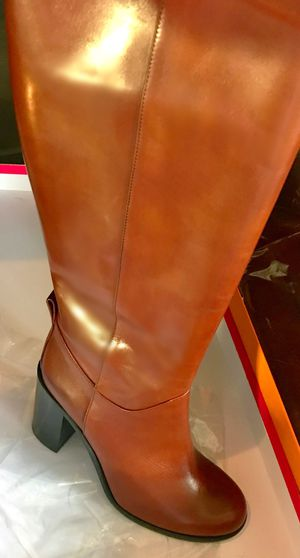 👢 Stunning & Stylish, Brand New Authentic Kate Spade Baina Leather Boots!! Paid $425+tax Retail Price 🤩 for Sale in Dallas, TX
