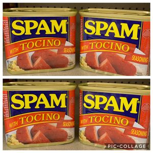 Spam - Limited Edition Tocino Flavor - 4 Qty. $38 for Sale in Honolulu, HI