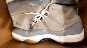 AIR JORDAN 11's COOL GREY Size 13 THIS $200 bring for Sale in Bensalem, PA