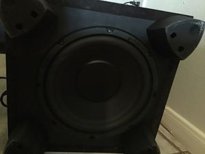 Klipsch KSW10 subwoofer for Sale in Houston, TX