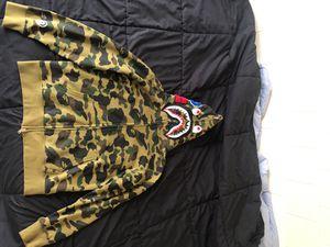 Bape zip up hoodie. for Sale in Boston, MA