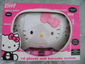 Hello Kitty CD Karaoke System for Sale in Stoughton, MA
