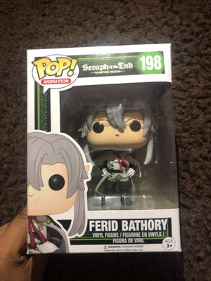 Funko Pop Animation: FERID BATHORY Toy Figure for Sale in Industry, CA
