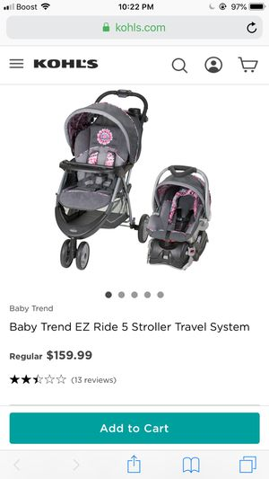 Car seat and stroller for Sale in Fresno, CA
