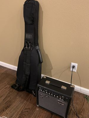 Electric Guitar and Fender Amp. Excellent combo for Sale in Beaverton, OR