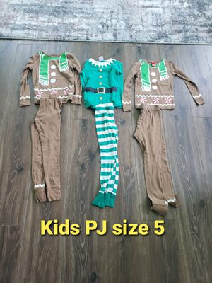 Kids PJ used size 5T for Sale in Westminster, CA