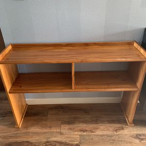 "Solid Pine Wood Shelf , TV Stand !!! 12"" D 28"" H 45"" W for Sale in Vancouver, WA"