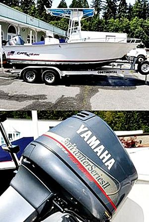 2OO2 Cape Horn Center Console 2O-foot Fishing for Sale in New York, NY