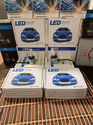GMC Sierra pk 99-06 new led headlights bulbs for Sale in Hayward, CA