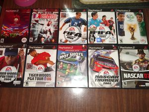 PS2 GAMES 10 PACK for Sale in Orlando, FL