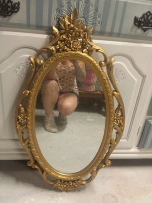 Gorgeous refinished vintage mirror for Sale in Salt Lake City, UT