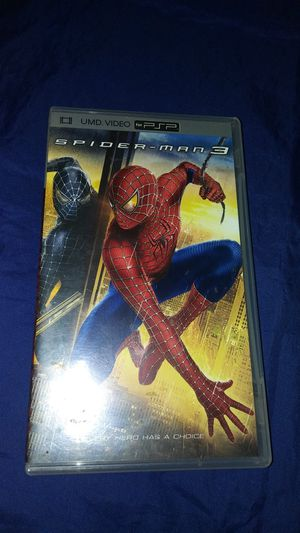 UMD VIDEO PSP Spiderman 3 movie for Sale in Commerce, CA
