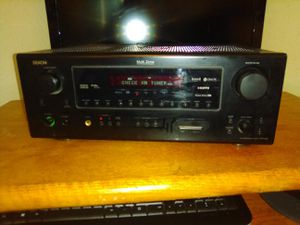 Denon AVR 588 7.1 ch surround system receiver for Sale in Fresno, CA