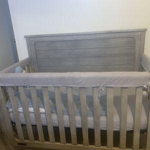 Gray baby Crib for Sale in Phoenix, AZ