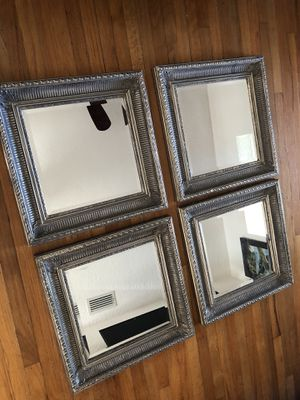 DECORATIVE WALL PEWTER WALL MIRRORS. ONLY 3 LEFT for Sale in Miami, FL
